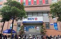 Đã bắt được 2 nghi phạm nổ súng cướp 900 triệu đồng tại BIDV ở Hà Nội