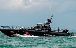 Malaysia bắt giữ 5 đối tượng buôn lậu 230 kg cần sa trên biển