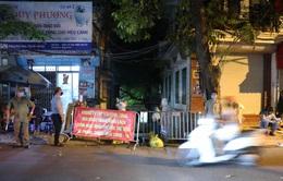 Thêm ca nghi dương tính với SARS-CoV-2, Hà Nội phong tỏa 1 khu phố ngay trong đêm