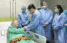 Bệnh nhân 91 đủ sức khỏe ngồi máy bay về Anh