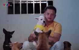 Điều ước thứ 7: Chuyện về anh công an bao đồng dành hết tiền để nuôi chó hoang
