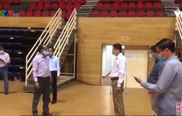 Đà Nẵng khẩn trương xây dựng bệnh viện dã chiến tại khu thể thao Tuyên Sơn