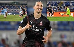 Lazio 0-3 AC Milan: Ibrahimovic ghi dấu ấn ngày trở lại (Vòng 30 Serie A)