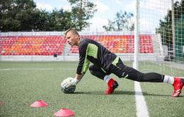 Thủ môn CLB Znamya Truda FC tại Nga bị sét đánh khi đang tập luyện