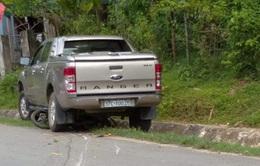 Trưởng phòng TN&MT gây tai nạn khiến một người tử vong