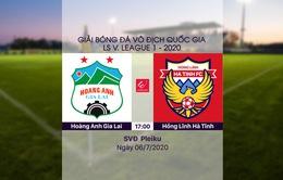 VIDEO Highlights: Hoàng Anh Gia Lai 1-0 Hồng Lĩnh Hà Tĩnh (Vòng 8 LS V.League 1-2020)