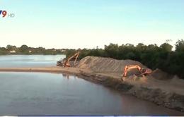 Ninh Thuận chấn chỉnh khai thác cát trên sông Dinh
