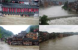Miền Nam Trung Quốc lại hứng chịu mưa lớn, cảnh báo màu vàng được đưa ra