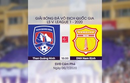 VIDEO Highlights: Than Quảng Ninh 3-2 DNH Nam Định (Vòng 8 LS V.League 1-2020)