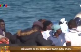 Số người di cư đến Italia tăng