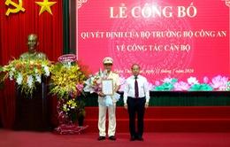 Thượng tá Nguyễn Thanh Tuấn giữ chức Giám đốc Công an tỉnh Thừa Thiên - Huế
