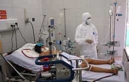 Bên trong khu vực cấp cứu bệnh nhân COVID-19 tại Bệnh viện Phổi Đà Nẵng