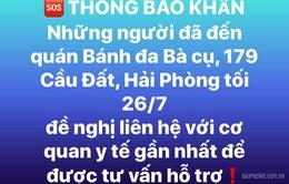 Hải Phòng: Đóng cửa tạm thời quán bánh đa Bà Cụ để kiểm soát dịch