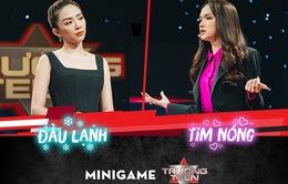 Ca sĩ Tóc Tiên đối đầu Hoa hậu Hương Giang trong cuộc thi tranh biện