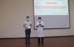 Công bố khỏi bệnh cho 1 bệnh nhân COVID-19 tại Hòa Bình