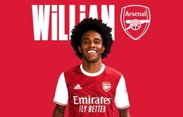 Willian CHÍNH THỨC gia nhập Arsenal!