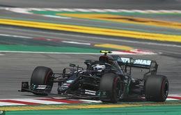 F1: Valtteri Bottas đạt thành tích tốt nhất buổi chạy thử GP Tây Ban Nha