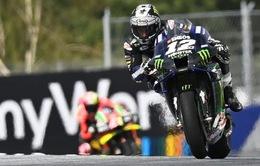 MotoGP: Maverick Vinales giành vị trí xuất phát đầu tiên tại GP Áo