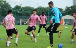 Đoàn Văn Hậu trở lại tập luyện cùng CLB Hà Nội