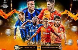 Thông tin trước trận bán kết UEFA Europa League: Inter Milan - Shakhtar Donetsk (02h00 ngày 18/8)