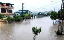 Lũ cuồn cuộn ở Điện Biên, ngập lụt nhiều nơi vì mưa dông lớn tại Bắc Bộ