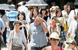 Hàng nghìn người phải nhập viện do sốc nhiệt, nắng nóng ở Nhật Bản