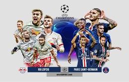Thông tin trước trận bán kết UEFA Champions League: RB Leipzig - PSG (02h00 ngày 19/8)