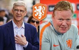 HLV Wenger sắp tái xuất, có thể thay Koeman dẫn dắt ĐT Hà Lan?