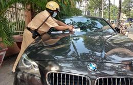 Xe vi phạm nhận thông báo bị xử phạt theo hình thức mới