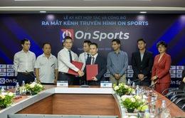 VTVcab phối hợp ra mắt Kênh Thể thao - Giải trí On Sports