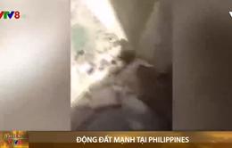 Động đất mạnh tại Philippines