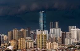 Chùm ảnh: Ngắm nhìn Hà Nội những ngày mưa dông