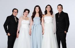 Khánh Vân khoe ảnh gia đình, chị dâu gây chú ý vì nhan sắc không kém cô em Hoa hậu