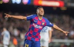ĐT Tây Ban Nha triệu tập đội hình: Tài năng trẻ Barca Ansu Fati được gọi