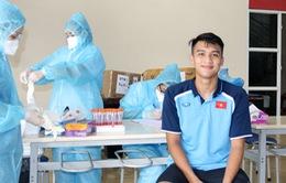 Không có ca nhiễm COVID-19, toàn đội U19 Việt Nam sẵn sàng bước vào tập luyện