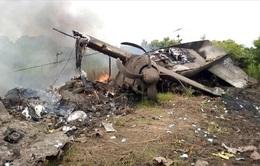 Rơi máy bay tại Nam Sudan, 17 người thiệt mạng