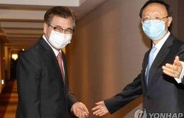 Hàn Quốc và Trung Quốc nhất trí thúc đẩy hòa bình trên bán đảo Triều Tiên