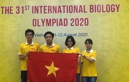 Cả 4 thí sinh Việt Nam đoạt giải tại Olympic Sinh học quốc tế 2020