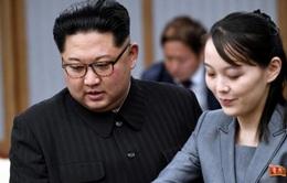 Em gái chủ tịch Triều Tiên Kim Jong Un đã thành người chỉ huy thứ hai trên thực tế?