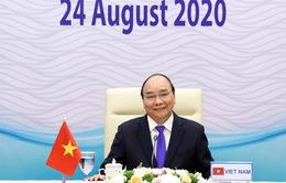 Thủ tướng Nguyễn Xuân Phúc dự Hội nghị cấp cao Mekong - Lan Thương