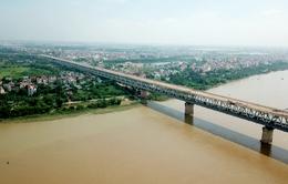 Đại công trường sửa cầu Thăng Long