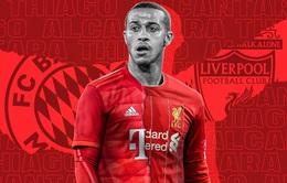 Liverpool sắp đón Thiago Alcantara