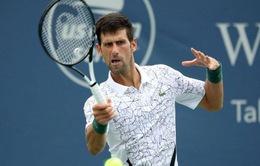 Cincinnati mở rộng 2020: Djokovic vất vả vượt qua vòng 2