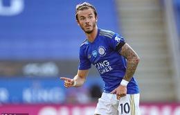 James Maddison cam kết tương lai với Leicester City