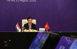 Quan hệ Việt Nam - Ấn Độ đang ở giai đoạn phát triển tốt đẹp