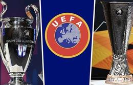 UEFA lên kế hoạch thay đổi thể thức tổ chức mùa giải 2020 - 2021