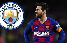 """Nóng! Messi bí mật """"đi đêm"""" với Man City?"""