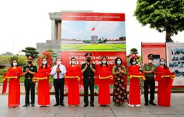 Triển lãm ảnh 45 năm khánh thành Lăng Chủ tịch Hồ Chí Minh