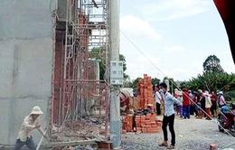 Sập công trình xây dựng ở Long An, 8 người thương vong