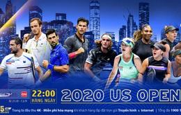 US Open 2020 trực tiếp duy nhất trên VTVcab với bình luận tiếng Việt